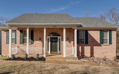 Hermitage Single Family Home For Sale: 1036 Tulip Grove Rd