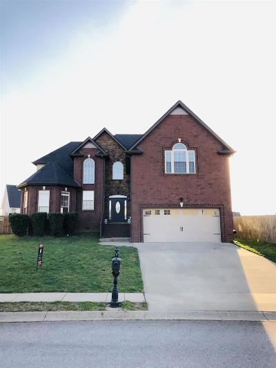 Christian County, Ky, Todd County, Ky, Montgomery County Single Family Home For Sale: 1382 Raven Rd