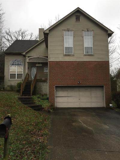 Nashville Single Family Home For Sale: 1609 Berrywood Way