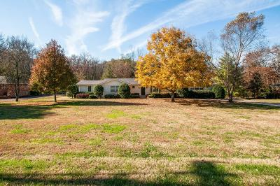 Nashville Single Family Home For Sale: 4613 Chalmers Drive