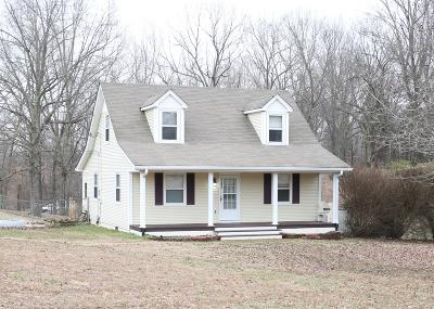 Clarksville Single Family Home For Sale: 5305 Ashland City Road