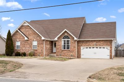 Clarksville Single Family Home Under Contract - Showing: 657 Tylertown Road