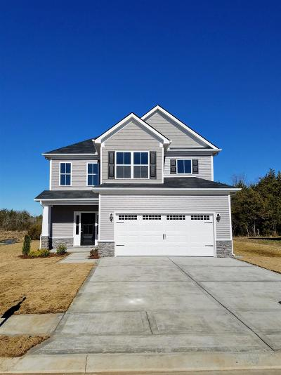 Murfreesboro Single Family Home For Sale: 1635 Sunray Dr - Lot 121