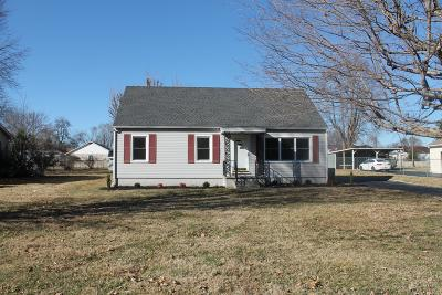 Christian County Single Family Home Under Contract - Not Showing: 2532 Thrush Drive