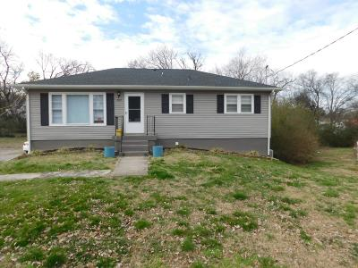 Lewisburg Single Family Home Under Contract - Showing: 202 Woods Ave N
