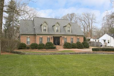 Single Family Home For Sale: 1223 Nichol Ln