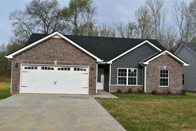 Clarksville TN Single Family Home For Sale: $169,900