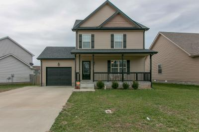 Clarksville Single Family Home Under Contract - Not Showing: 545 Falkland Cir