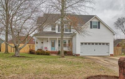 Single Family Home Under Contract - Not Showing: 307 Gaitherhill Dr