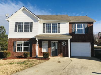 Lavergne Single Family Home Under Contract - Not Showing: 4066 Margo Cir
