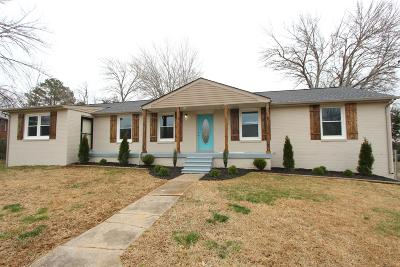 Clarksville Single Family Home For Sale: 126 Johnson Cir