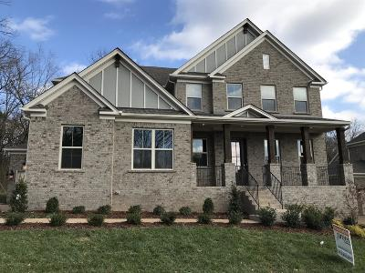 Sumner County Single Family Home For Sale: 108 North Malayna Dr Lot 87