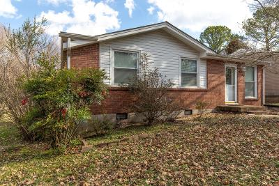Old Hickory Single Family Home Under Contract - Showing: 4226 Woods St