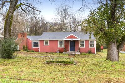 Nashville TN Single Family Home For Sale: $189,900