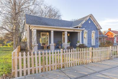 Nashville Single Family Home For Sale: 704 Meridian St