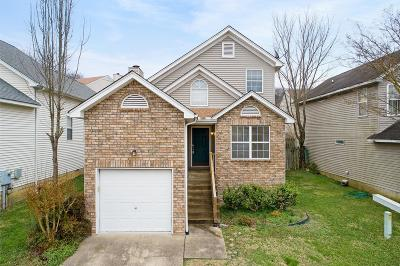 Goodlettsville Single Family Home For Sale: 1008 Lassiter Dr