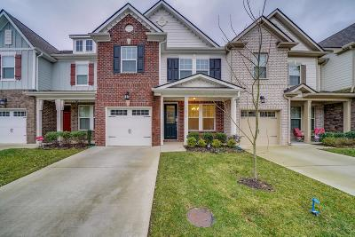 Mount Juliet Condo/Townhouse For Sale: 1034 Livingstone Ln