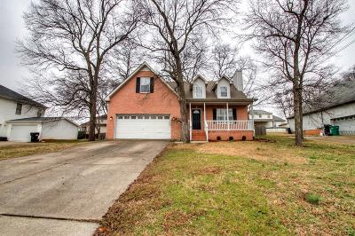 Smyrna Single Family Home Under Contract - Showing: 112 Saint Christopher Dr