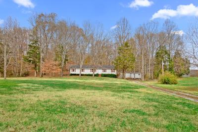 Dickson Single Family Home For Sale: 740 Potter Rd - Tract 2
