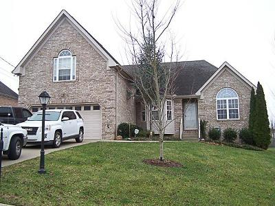 Mount Juliet Single Family Home For Sale: 557 Summit Way