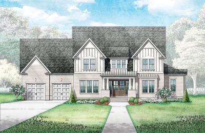 Williamson County Single Family Home For Sale: 8911 Calendula Ln (Lot 6039)