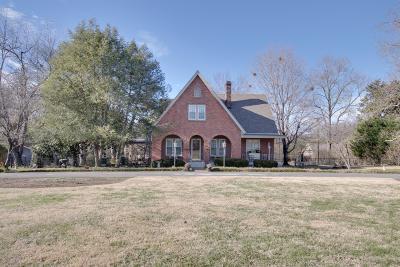 Nashville Single Family Home For Sale: 3036 Lebanon Pike