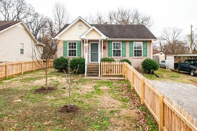 Nashville Single Family Home For Sale: 1522 McKennie Ave