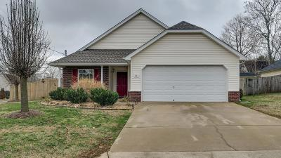 Smyrna Single Family Home Under Contract - Showing: 301 Sam Davis Dr