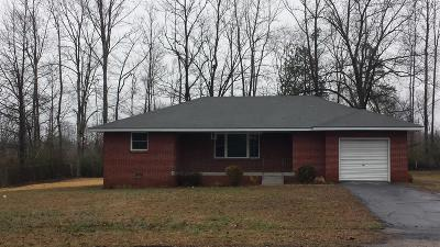 Paris Single Family Home For Sale: 919 Glisson Rd