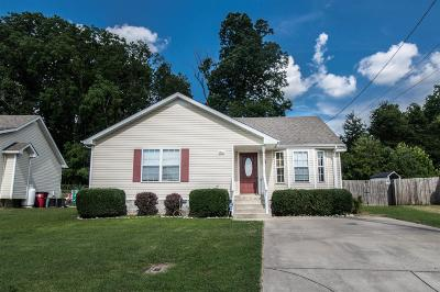 Clarksville Single Family Home Under Contract - Not Showing: 1012 Fuji Ln