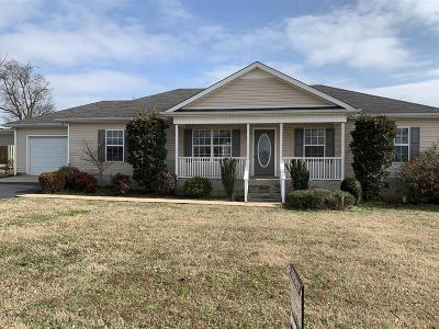 Shelbyville Single Family Home For Sale: 106 Saddlewood Dr