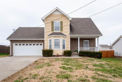 Clarksville Single Family Home Under Contract - Showing: 3416 Queensbury Rd
