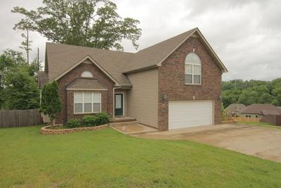 Clarksville Single Family Home Under Contract - Showing: 1121 Channelview Ct