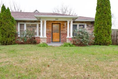 Davidson County Single Family Home For Sale: 209 46th Ave North