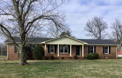 Shelbyville Single Family Home For Sale: 1201 Fairfield Pike