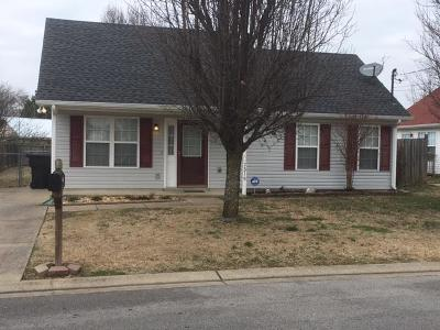 Murfreesboro Single Family Home Under Contract - Not Showing: 2319 Chandler Pl