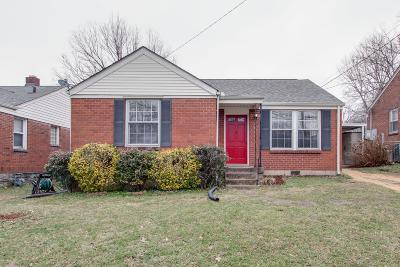Davidson County Single Family Home For Sale: 1311 Ardee Ave
