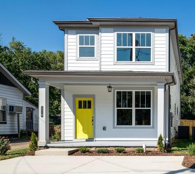 Davidson County Single Family Home For Sale: 2217 B Sadler Ave