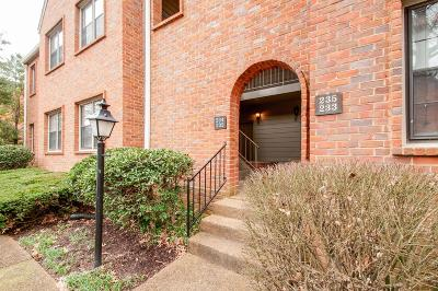 Nashville Condo/Townhouse For Sale: 232 Westchase Dr