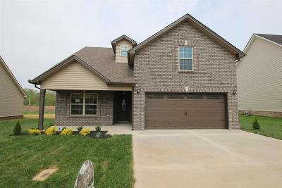Clarksville Single Family Home For Sale: 287 The Groves At Hearthstone