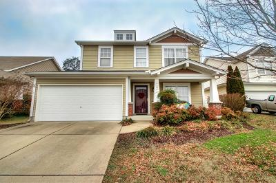 Mount Juliet Single Family Home For Sale: 2187 Erin Ln