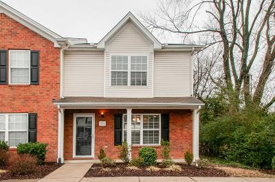 Murfreesboro Condo/Townhouse For Sale: 3714 Iron Horse Ct
