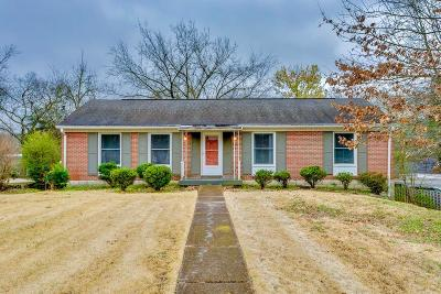Goodlettsville Single Family Home For Sale: 314 Marita Ave