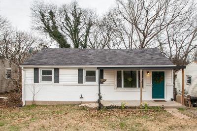 Davidson County Single Family Home For Sale: 2814 Jones Ave