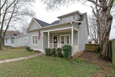 Nashville Single Family Home For Sale: 824 N 2nd St