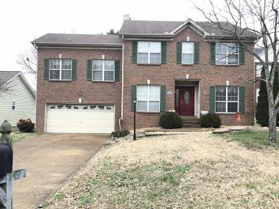 Mount Juliet Single Family Home Under Contract - Not Showing: 2305 N Cromwell Ct