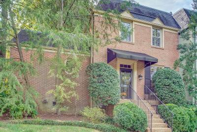 Nashville Condo/Townhouse For Sale: 4400 Belmont Park Terrace 132