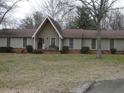 Mount Juliet TN Single Family Home For Sale: $225,000