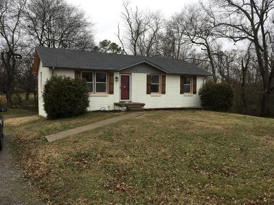 Clarksville Single Family Home Under Contract - Showing: 127 Susan St