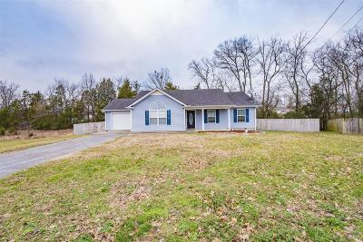 Shelbyville Single Family Home Under Contract - Not Showing: 209 Saddlewood Dr
